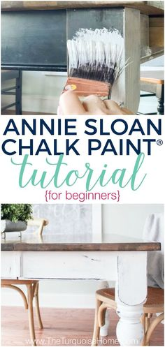 How to Use Annie Sloan Chalk Paint® - a tutorial for beginners