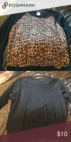 Vs pink top New victoria's Secret pink shirt cheetah print. Small PINK Victoria's Secret Tops Tees - Long Sleeve