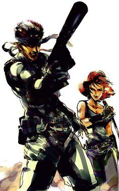 Metal Gear Solid: Snake & Meryl