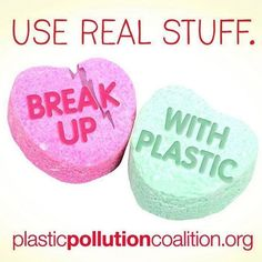 Make our Planet your Valentine break up with single use plastic and find the real love Plastic Pollution, Our Planet, Real Love, Breakup, Planets, How To Make, Join, Holidays, Instagram