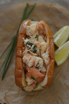 Brown Butter and Chive Lobster Rolls | Bakeaholic Mama | Bloglovin'