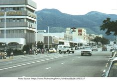 Umtali, Rhodesia (now Mutare, Zimbabwe) - Main Street, CABS centre circa 1975 Zimbabwe History, Main Street, Street View, Victoria Falls, Out Of Africa, All Nature, Built Environment, Aerial View, South Africa