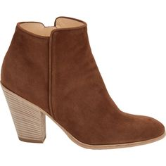 Barneys New York Daddy Point-Toe Ankle Boots ($239) ❤ liked on Polyvore