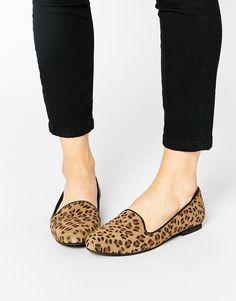 ASOS Park Lane Suede Slipper Shoes