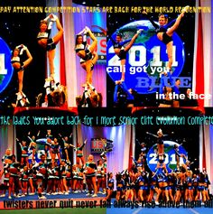 World Cup..California all stars...cheer extreme....F5..<3