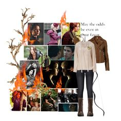 The Hunger Games!, created by chey-love on Polyvore