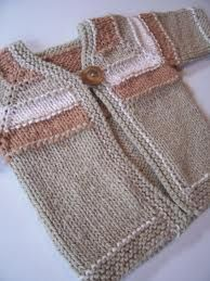 baby sweater knitting pattern - Buscar con Google