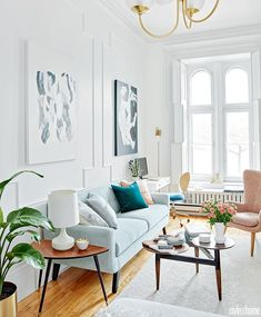 Mix and Chic: Inside a bright and airy Montreal studio with a Parisian flair!