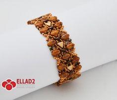 Tutorial Silky-two Bracelet - Beading Tutotials and Patterns - Ellad2