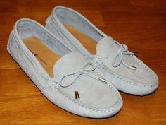 Mercanti Fiorentini Loafers Shoes Gray Suede Womens Size 8B #MercantiFiorentini #Loafers #Casual