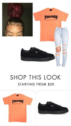 """~playboi carti woke up~"" by qveenmm ❤ liked on Polyvore featuring Puma"