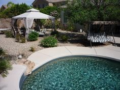 Beautiful arizona backyard - I want this pool!