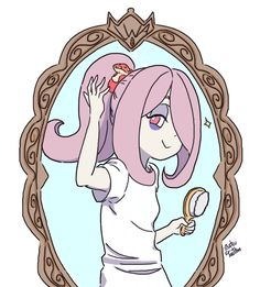 Sucy Manbavaran Little witch academia