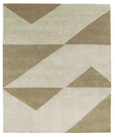 Light grey – green brown. Hand knotted in wool + silk. Made in Nepal. Design Kristiina Lassus.