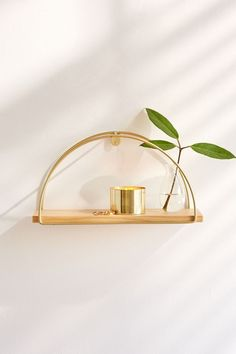 Shop Darby Half Circle Wall Shelf at Urban Outfitters today. Girls Bedroom, Bedroom Decor, Wall Decor, Bedroom Ideas, Modern Bedroom, Bedroom Furniture, Master Bedroom, Bedroom Plants, Design Bedroom