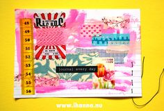 Index Card Art | Layers and dots – iHanna's Blog Blue Tulips, Yellow Daisies, Waste Art, Introvert Humor, Raspberry Tarts, Vintage Strawberry Shortcake, New Pen, Glue Book, Copy Paper