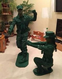 Army men and women!