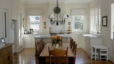 Classic white kitchen - Traditional Australian Homes by Strongbuild