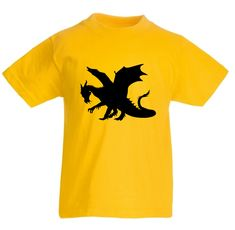 A quality short sleeve T shirt with vinyl dragon detail. Size guide Children's T Shirts Age (yrs) Chest To Fit (ins) 24 25 26 28 30 32 34 36 Children, Kids, Dragon, Etsy Shop, Clothing, T Shirt, Clothes, Tee, Outfit