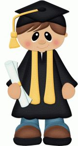 Silhouette Design Store - View Design blonde graduate boy w diploma pnc Diy And Crafts, Crafts For Kids, Paper Crafts, Silhouette Design, School Clipart, Silhouette Online Store, Graduation Cards, Graduation Pictures, Cute Clipart
