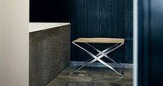PK91 Folding Stool by Fritz Hansen - Via Designresource.co