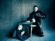 Magazine Man About Town came out with a photoshoot Paolo Roversi.The model was Simon Sabbah.