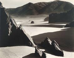 Brett Weston - Garrapata beach, California - 1956
