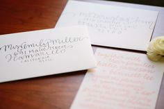 DIY Wedding Envelope Addressing Tips  http://driverphoto.pass.us/acharmingoccasion