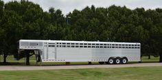 4-Star 40' Custom ordered Dairy trailer (800) 848-3095