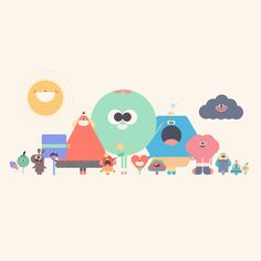 Probably by Headspace? Maybe Moth Animation Studio but not sure. Cute Illustration, Character Illustration, Graphic Design Illustration, Digital Illustration, Game Character Design, Kid Character, Character Design References, Cute Kawaii Girl, Cute Characters