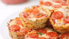 Cauliflower Pizza Bites