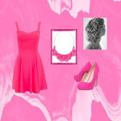 pink by magicandpeanut on Polyvore featuring Miss KG and George J. Love