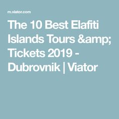 Check out the best tours and activities to experience Elafiti Islands (Elaphites) . Don't miss out on great deals for things to do on your trip to Dubrovnik! Reserve your spot today and pay when you're ready for thousands of tours on Viator. Private Yacht, Sailing Trips, Fishing Guide, Island Tour, Tour Tickets, The 10, Boat Tours, Fishing Villages