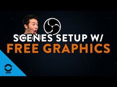 Scenes in OBS Studio (Free Graphics Included) Video Background, Free Graphics, Overlays, Texts, Nerd, Learning, Studio, Youtube, Studying