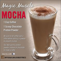 Awesome pre-workout drink recipe for you to try: http://www.flaviliciousfitness.com/blog/2013/10/24/protein-powder-drinks/ <-- Get More Recipes Here!