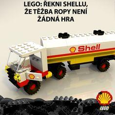 Chcete, aby si naše děti hrály na to, jak těží ropu v Arktidě? Pokud ne, napište firmě LEGO a sdílejte tento obrázek. ►►► www.bit.ly/lego_shell_video_fb