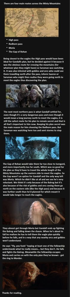 Lord of the Rings Eagle Plot Hole Fan Theory Mind. Blown.