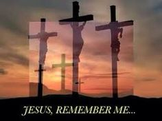 """Luke 23:41-47  One of the criminals who hung there hurled insults at him: """"Aren't you the Christ? Save yourself and us!"""" But the other criminal rebuked him. """"Don't you fear God,"""" he said, """"since you are under the same sentence? We are punished justly, for we are getting what our deeds deserve. But this man has done nothing wrong."""" Then he said, """"Jesus, remember me when you come into your kingdom. """" Jesus answered him, """"I tell you the truth, today you will be with me in paradise."""""""