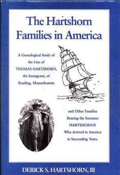 The Hartshorn Families in America