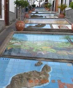 Calle del Pueblo de Firgas - Gran Canaria