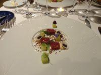 Atum fumado/presunto ibérico/foie gras/caviar - Meir Adoni (Catit.Israel) - Fortaleza do Guincho