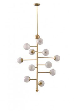 A desire to combine the mediums of glass and metal was the basis of the Orbit 1 and 2 Ceiling Light. First came the beautiful milky glass domes which would Ceiling Pendant, Ceiling Lamp, Ceiling Lights, Shops, Luxury Lighting, Interior Design Inspiration, Design Ideas, Glass Domes, Beautiful Interiors