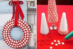 Use balas e doces para decorar
