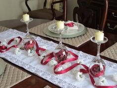 New Wedding Table Decorations Glass Center Pieces Ideas Wine Glass Centerpieces, Elegant Centerpieces, Holiday Centerpieces, Wedding Table Decorations, Valentine Decorations, Wedding Centerpieces, Wedding With Kids, Wedding Ideas, Wedding Stuff