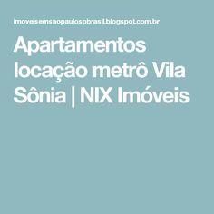 Apartamentos locação metrô Vila Sônia | NIX Imóveis