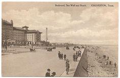Historic Galveston Seawall