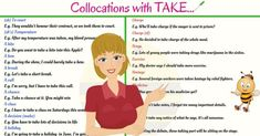 A collocation is made up of two or more words that are commonly used together in English. Think of collocations as words that usually go together.
