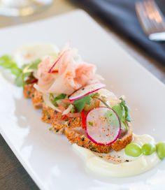 Tuna Tataki with Citrus Ceviche