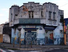 Old building at Padre Estevao Pernet Street (Tatuape) Sao Paulo - Brazil