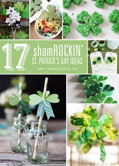17 Shamrockin' St. Patrick's Day Ideas - simple as that